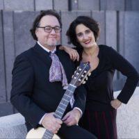 Das Duo Shira. Sie spielen im Sommer 2019 ein Konzert im JMF Schnaittach.