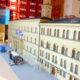 Lego Rathaus im Schlafzimmer von Lego-Künstler Herbert Meier aus Neumarkt.