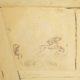 Ausschnitt Hasenjagdszene, Jüdisches Museum Franken in Schwabach