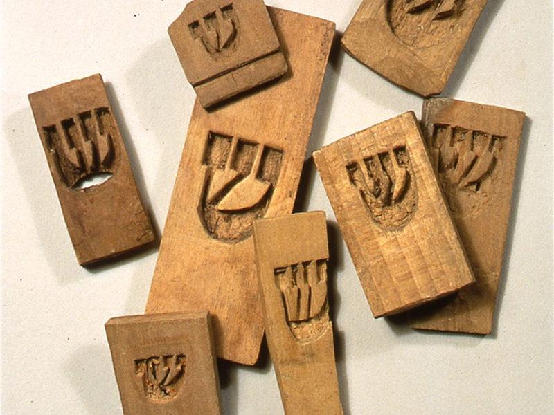 Buchmodeln aus der Sammlung des Jüdischen Museum Frankens.