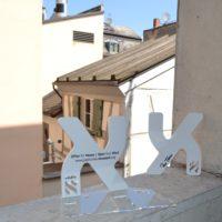 Wer die Alef-Figur kauft, unterstützt den Erweiterungsbau des Jüdischen Museums Franken in Fürth.