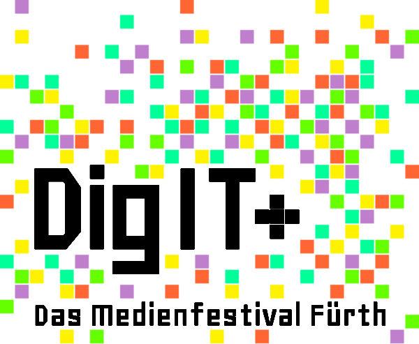 Logo des Medienfestivals in Fürth 2019