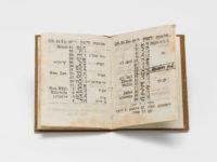Jüdischer Kalender in der Dauerausstellung des Jüdischen Museums Franken in Fürth.