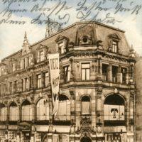 Das ehemalige jüdische Kaufhaus Tietz in Fürth.
