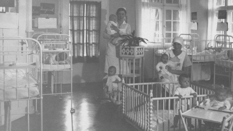 Krautheimer Krippe Säuglingszimmer