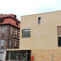 Neubau Jüdisches Museum Franken im September 2017