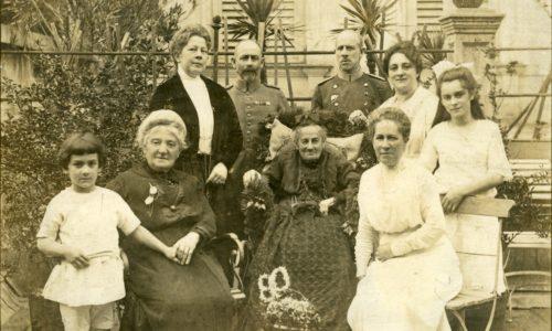 Altes Foto der jüdischen Familie Ortenau.