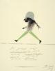 Postkarte von John Elsas: Abenteuer