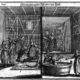 """Kupferstich von Puschner """"Reinigung der Weiber im Bad"""", aus: Paul Christian Kirchner: Jüdisches Ceremoniel, Nürnberg um 1730."""