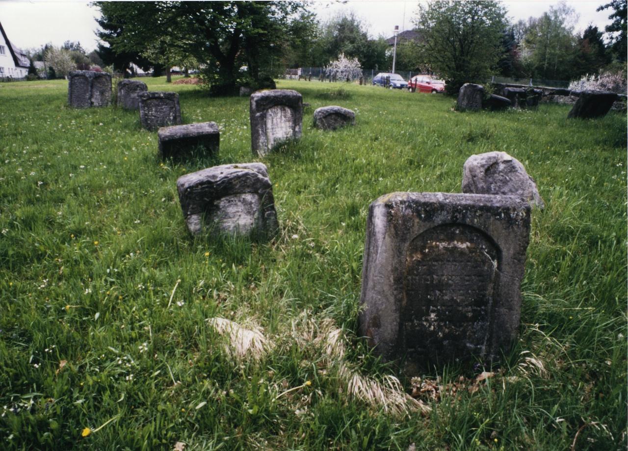 Der älteste jüdische Friedhof in Schnaittach.