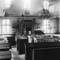 Synagoge in Schwabach, Innenaufnahme, um 1920. ©Stadtarchiv Schwabach.