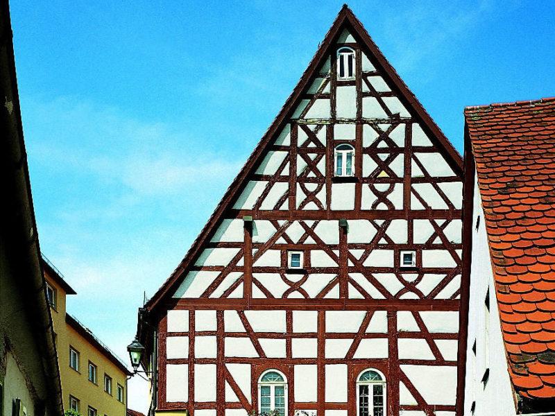 Außenansicht des Jüdischen Museums Franken in Schnaittach.