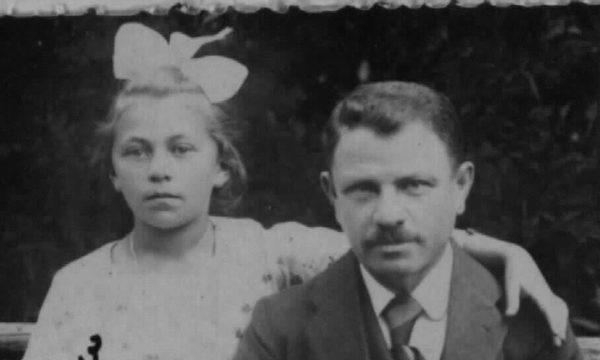 Altes Foto mit der Familie Freimann.