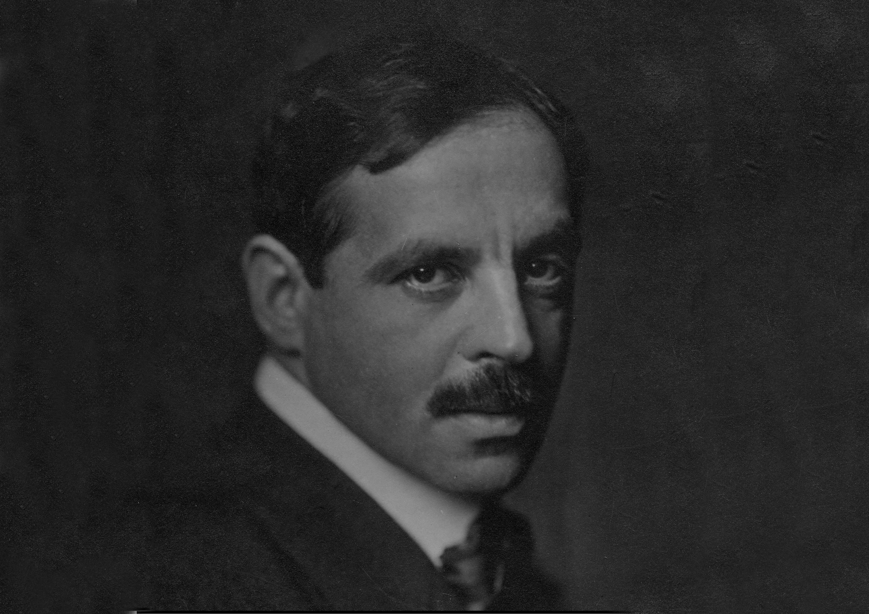 Portrait von Jakob Wassermann.