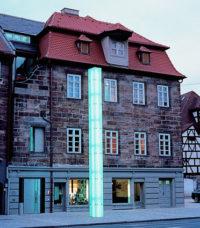 Außenansicht, Jüdisches Museum Franken in Fürth.