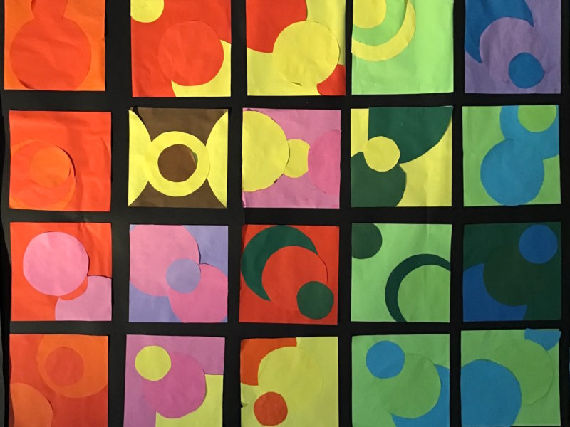 Collage im Stile Otto Treumanns
